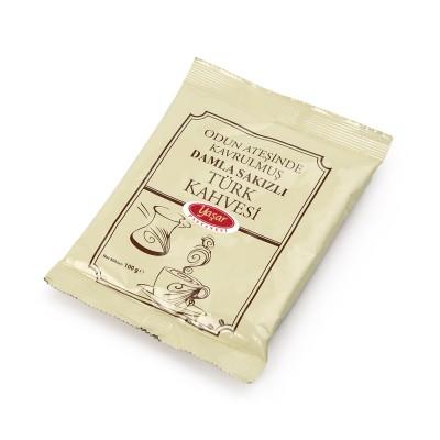 mado,yaşar dondurma - DAMLA SAKIZLI TÜRK KAHVESİ (100 gr)